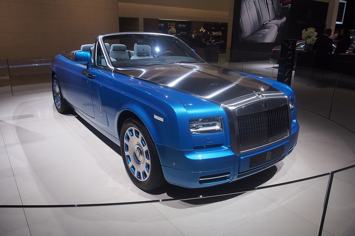 Rolls-Royce Phantom Drophead Coupe Waterspeed Collection