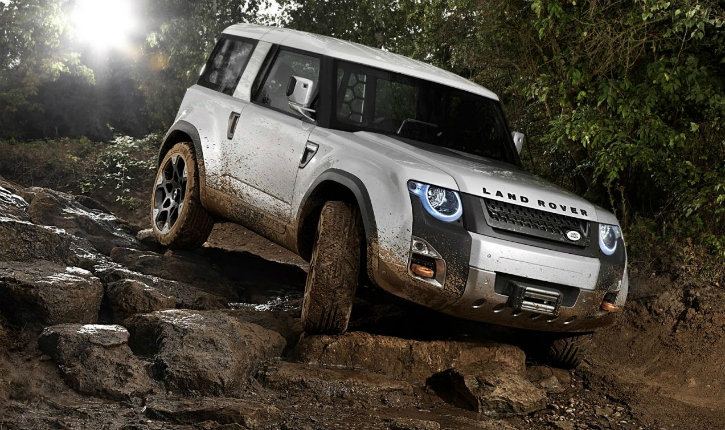 Land Rover Defender new
