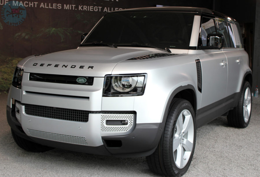 Defender 110 First Edition Серебро Indus Silver