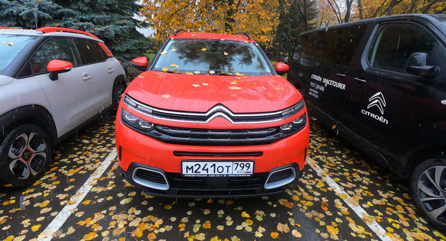 Citroen C5 Aircross Shine Красный