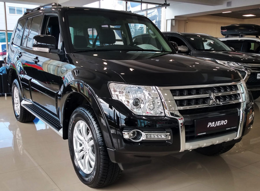 Mitsubishi Pajero 4 Final Edition
